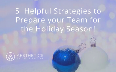 'Tis the Season for your Aesthetic Business ❄🌲⛄