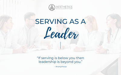 Serving As A Leader