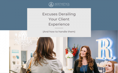 Excuses Derailing Your Client Experience