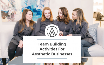 Team Building Activities For Aesthetic Businesses